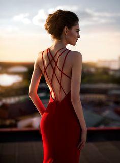 De 412 bedste billeder fra Red ✮ dresses i 2020 | Chiffon