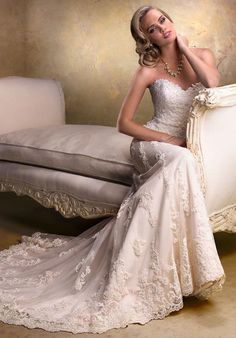 Maggie Sottero Emma A-Line Wedding Dress