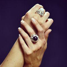 Passion for jewels, goodmorning! Buongiorno da #Rachelorly #gioiellomoda #gioielli #argento #jewels #musthave #fashion #cool #design #classy #glam #girl #love #pearls #ring #anelli #eleganza #handmade #perle #blackandwhite #modadonna