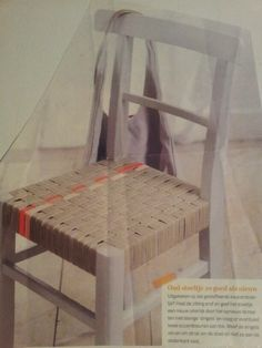 DIY: refurbishing the seat of your diningroom chairs