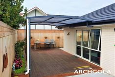 Looking to extend your living space? Add an Archgola to your home and it's like adding a new room, for a fraction of the price. Archgola awnings are custom-made to your style and budget. Customise your Archgola awning design, frame colours and roof tints, to achieve the shade and shelter you're looking for. Call us now on 0508 272 446 for a FREE measure & quote. Outdoor Awnings, Roof Shapes, Outdoor Shelters, Outdoor Shade, Outdoor Areas, New Room, Living Spaces, Budget, Quote