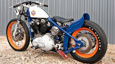 DP Customs Gulf Oil Company Harley Davidson Motorcycle. This is a real looker!