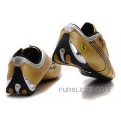 d8228958c26af4 Puma Ferrari Future Cat M1 Shoes GoldBlack Lastest N7YCRb