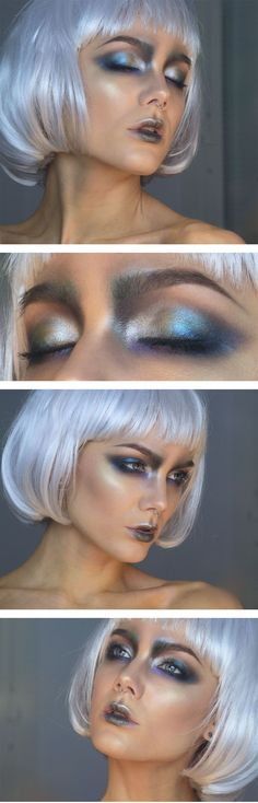 "Todays look- New Years Eve; I renamed it: ""Cosmic""                                                                                                                                                                                 More"