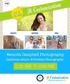 #SmugMug site of the week - Renoda Campbell Photography - click to read more