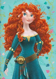 BRAVE PRINCESS MERIDA | Brave Disney Princess Merida