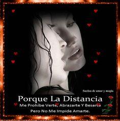 SUEÑOS DE AMOR Y MAGIA: La distancia