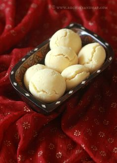 A couple of years ago my childhood friend Veda shared her recipe for the nankhatai, a lovely Indian sweet biscuit that is usually prep...