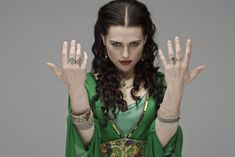 Morgana lookin' mischievous or sassy.  Eh maybe both. ;)