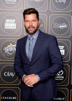 Singer Ricky Martin attends People En Espanol 2014 Los 50 Mas Bellos Event on May 12, 2014 in New York City. Latina, Sebastian Yatra, Porto Rico, Fun Shots, Queen Of Hearts, Sexy Men, Hot Men, Bellisima, Gorgeous Men