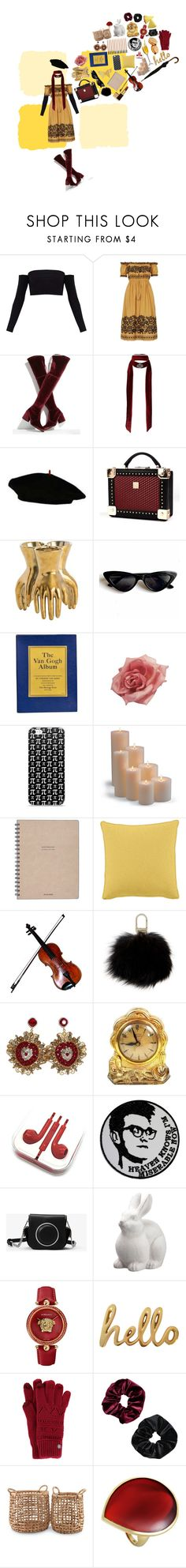 """""""art hoe who listens to the smiths (i know it's over)"""" by elmoknowswhereyoulive ❤ liked on Polyvore featuring Stuart Weitzman, Miss Selfridge, Collectif, Frontgate, Yves Salomon, Dolce&Gabbana, MICHAEL Michael Kors, Allstate Floral, Versace and Bombay Duck"""