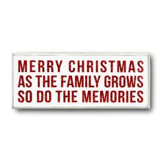 Find it at the Foundary - Merry Christmas Box Sign - 7.50 x 3