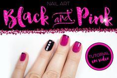Nail art: inglesinha + enfeites