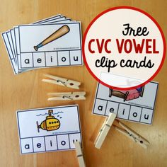 Free CVC Clip Cards square image