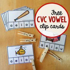 Free CVC Clip Cards square image