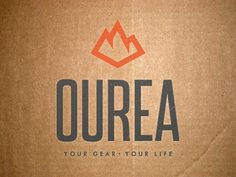 Logo for outdoor gear and clothing company. The name makes no sense...kinda like your other idea.