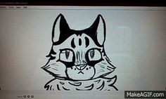 Cat to Lion animation by Carise :3