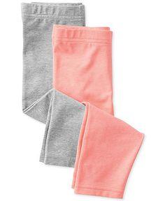 Carter's Baby Girls' 2-Pack Leggings - Kids Baby Girl (0-24 months) - Macy's $9