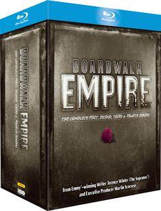Boardwalk Empire - Season 1-4 Blu-ray Region Free: Amazon.co.uk: Steve Buscemi: DVD & Blu-ray