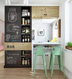 konyha fal részben lebontható