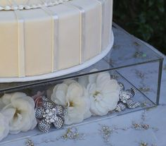 Diamond Wedding Cake Stand