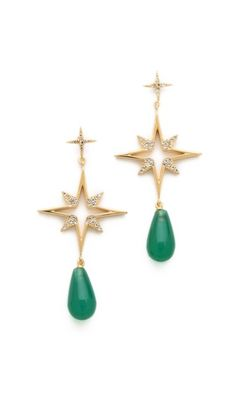 Elizabeth and James Northern Star Open Earrings $250.00