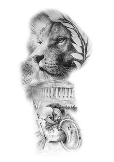 Pin de caribskiy em эскизы tattoos, lion tattoo e tattoo designs. Wolf Tattoos, Skull Tattoos, Head Tattoos, Animal Tattoos, Yogi Tattoo, Lion Tattoo, Tattoo Sleeve Designs, Sleeve Tattoos, Tattoo Sketches