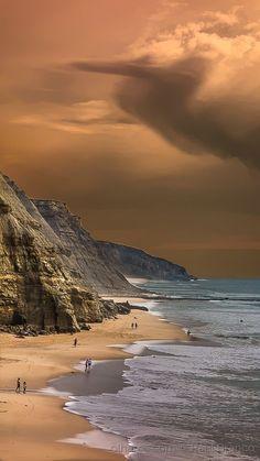 Praia de São Julião, by Raul Branco, Portugal...