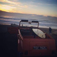 #sunset #surf #dreams #sea #love #vw