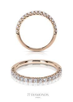 Ballerina Eternity Ring @77 Diamonds #rosegold