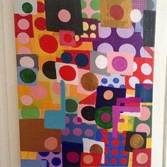 Nina Bovasso, 2016, acrylic on canvas, 14 x 18 inches