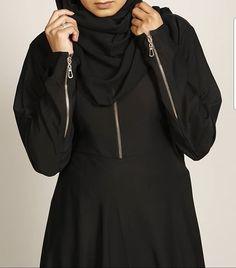 BLACK ZIP LINE ABAYA   Perfect for an everyday abaya perfect piece for Ramadan.  www.missabaya.com  #missabaya #abaya #ramadan #black #wardrobe #fashion #fashionista #zip #pocket #gold #botton #muslim #muslimah #muslimahfashion #Instagram #wiwt #Sunday #hijab #lifestyle #arabicfashion #dubaifashion #saudifashion #vogue #fashionicon