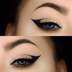 Trying to figure out how to apply liquid eyeliner so that it is perfect? Then you have come to the right place! #makeup #makeuplover #makeupjunkie #eyeliner