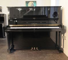 A 1980, Yamaha U3 upright piano with a black case and polyester finish at Besbrode Pianos £3950 This piano comes with a 3 year warranty, first free tuning and a free piano stool. 0% finance available subject to terms and conditions