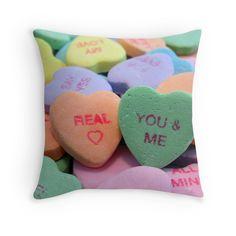 """You & Me"" Throw Pillows by Lenora ""Slinky"" Regan | Redbubble"