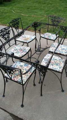 table and chairs Meadow Rose Pinterest