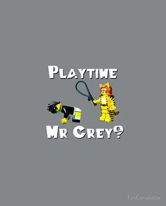 Playtime Mr Grey?
