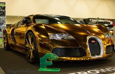 If we had one penny for every abominable vehicle owned by people involved in the music industry, we would have enough money to buy a Bugatti Veyron and get it wrapped in gold chrome. Just kidding of course. We'd rather have a shiny restomod Camaro. And don't put the gold chrome Veyron on our account, because Flo Rida is the one that came up with the idea. Now don't get us wrong, there's anything wrong with the Bugatti Veyron. The car ain't pretty if you ask us, but to wrap it all...