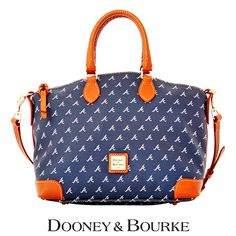 Atlanta Braves MLB Signature Satchel Bag by Dooney & Bourke - MLB.com Shop