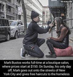Good guy Mark. Faith in humanity restored. #9gag @9gagmobile