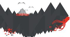 Emerge TEDx theme logo