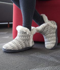 Snuggle up to coziness with the Woven Bootie from Airwalk.