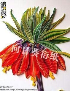 Sun flower - quilling