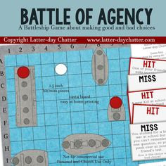 Battle of Agency Sharing time idea