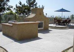 BBQ Island in Encinitas CA - Davis Concrete