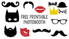 Free Printable Halloween Photo Booth. This DIY Halloween photo booth is easy and cheap. Mummy, Frankenstein, witch, Dracula, spider, skeleton!