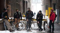 New York Bike messengers