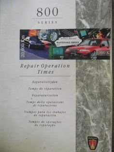 1985 1990 ford lincoln mercury master cross reference list manual rover 800 repair operation times manual rcl0146 3rd 1999 listing in the rover mgf fandeluxe Gallery