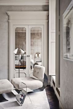 Joseph Dirand's Paris Apartment | Yellowtrace
