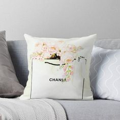Chanel Pillow Glam Pillow Cover Decorative Pillow Cover